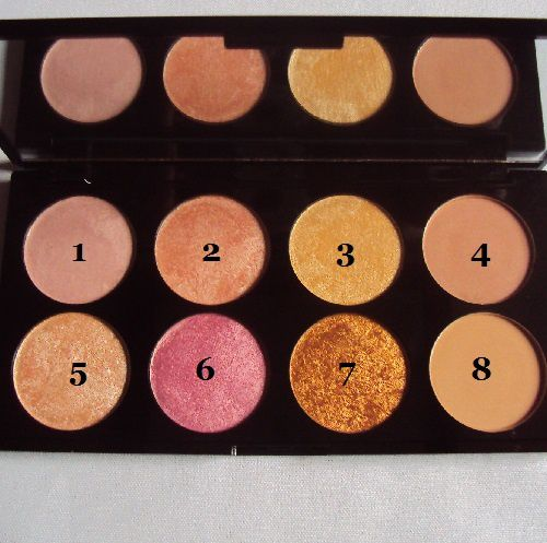 Ma palette de blush Golden Sugar 2 Rose Gold de Reolution Make Up
