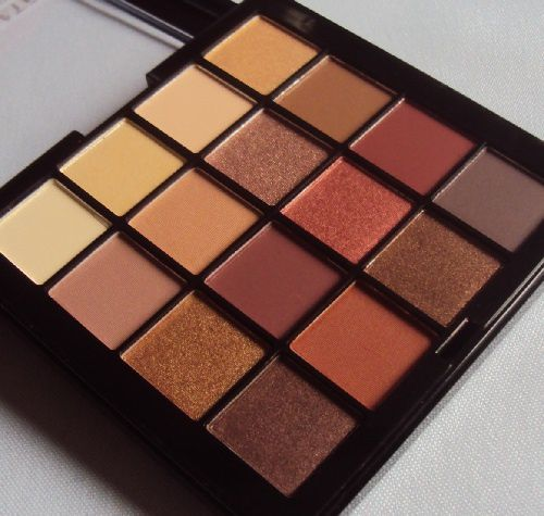 Ma palette Ultimate de NYX (teinte warm neutrals)