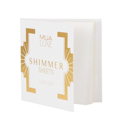 Shimmer Sheets de MUA Luxe