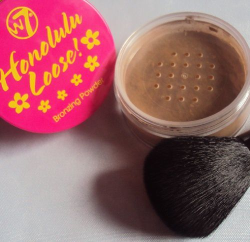 Honolulu Loose! bronzing powder set de W7