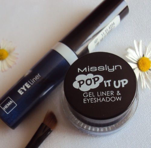 Pop It Up, gel liner &amp&#x3B; eyeshadow de Misslyn