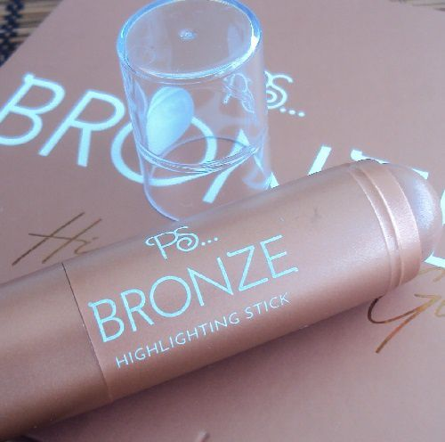 Bronze highlighting stick de P.S. (Primark)