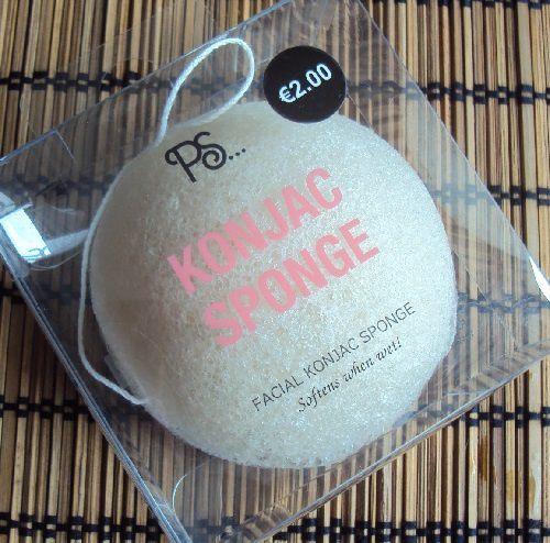 Une éponge Konjac chez Primark