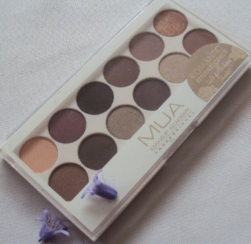 Ma palette Romantic Efflorescence de Make Up Academy (MUA)
