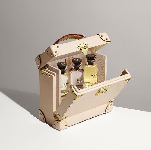 Vuitton réinvente le nécessaire à parfum