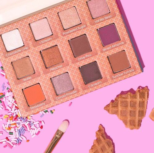 La palette Neapolitan Eyescream de Beauty Bakerie