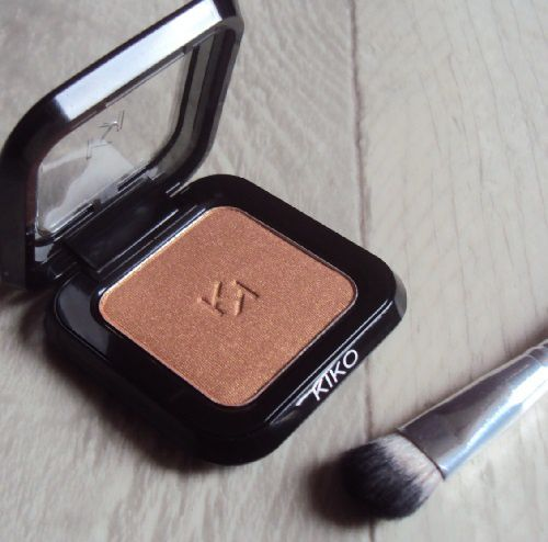 Mon fard High Pigment metallic Bronze de Kiko