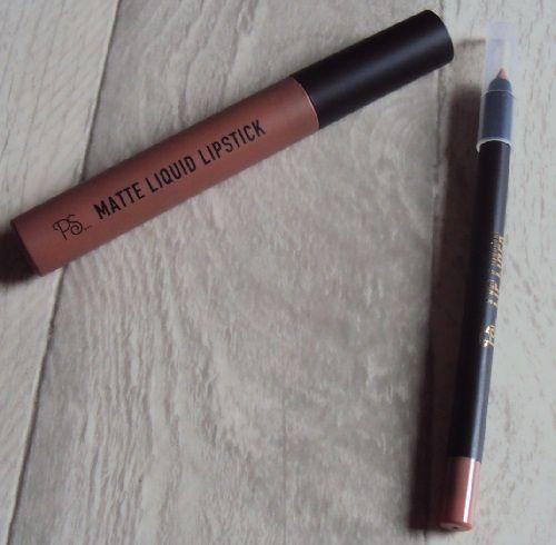 Sur mes lèvres : Cookie Dough matte liquid lipstick de P.S. (Primark)