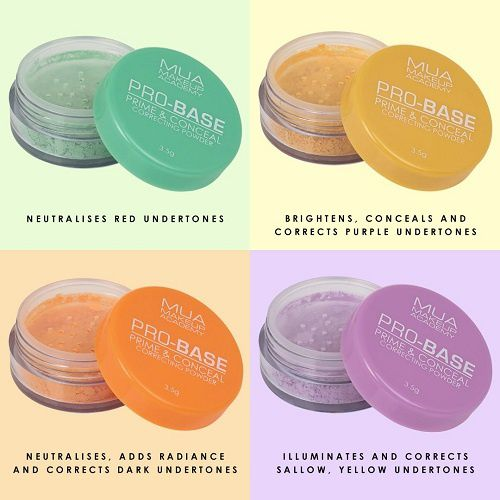 Pro-Base correcting powder de Make Up Academy (MUA)
