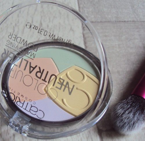 Colour Neutralizer mattifying powder de Catrice