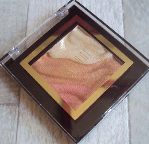 Ma palette Face &amp&#x3B; Eye Strobe de Milani (teinte Sun Light)