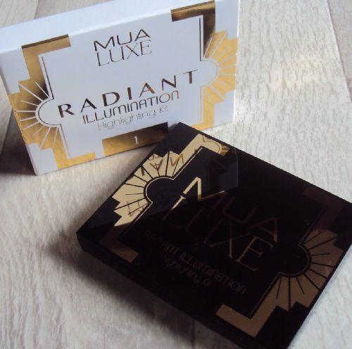 Radiant Illumination highlighting kit #1 de MUA LUXE