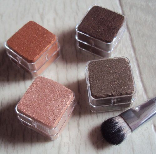 Shimmer Cubes 06 Chocolate/Brown de The Body Shop