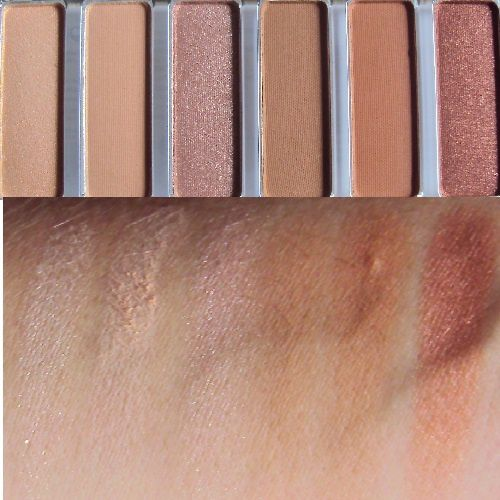 Ma palette Shadow Swatch The Rusts de Lottie London