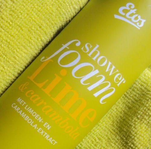 Shower foam Lime de Etos