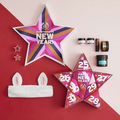 Countdown to New Year par The Body Shop