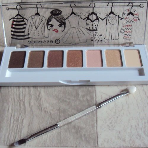 Ma palette 02 ... &amp&#x3B; the love story with my wardrobe de Essence (coll. ... &amp&#x3B; the lovely little things)