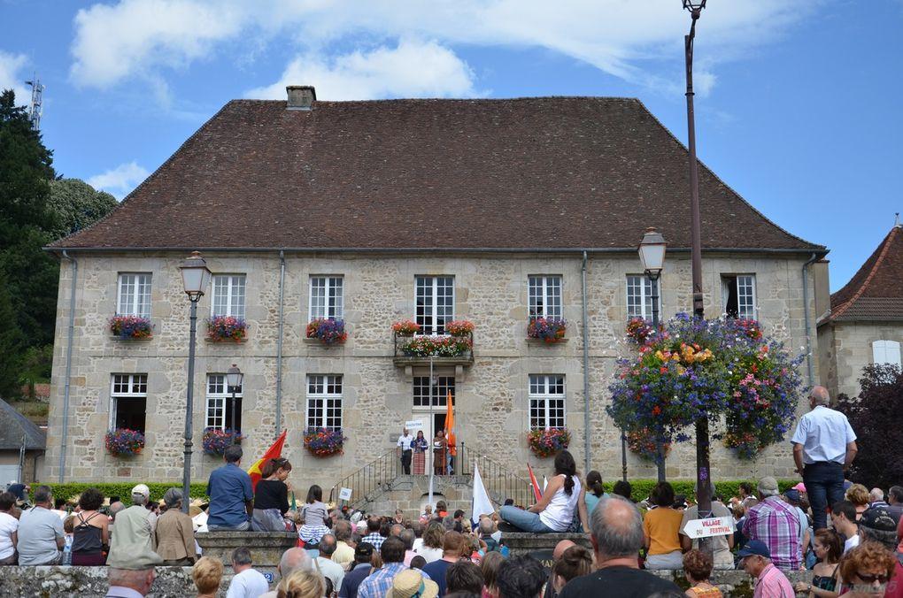 """Felletin  Festival """"Musiques et voix du monde""""(Limousin en camping-car)"""