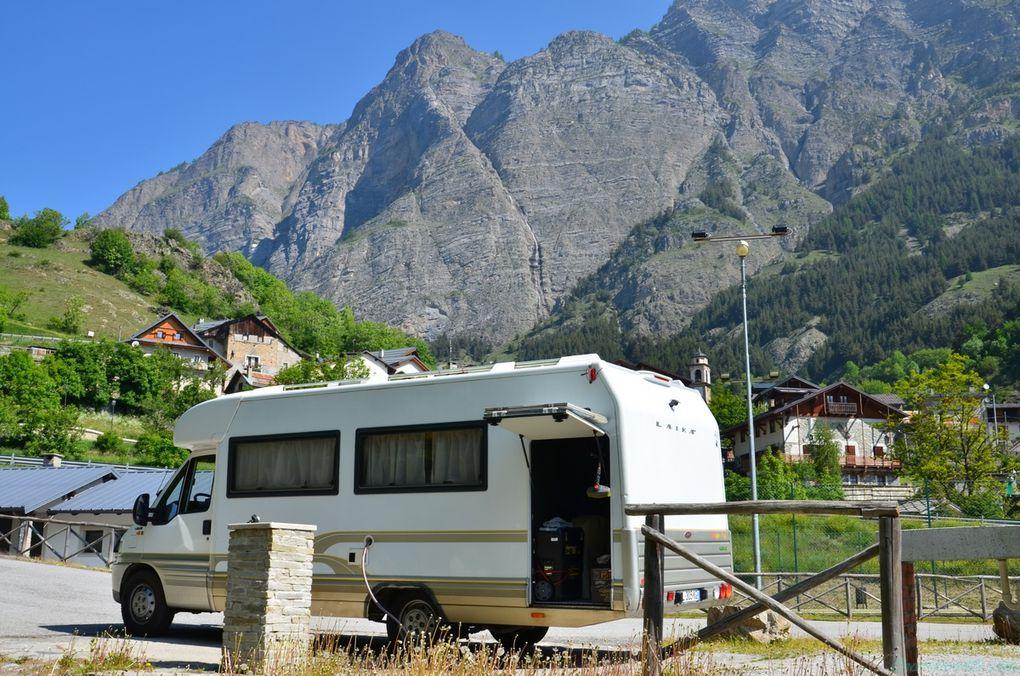 Aire de camping-car de Pietraporzio