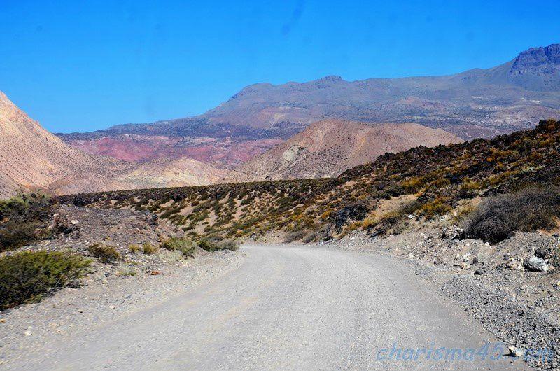 Ruta 40 de Las Lajas à Malargué (Argentine en camping-car)