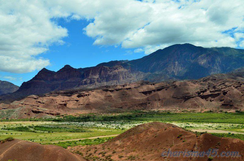 Quebrada de las Conchas - Tres Cruces