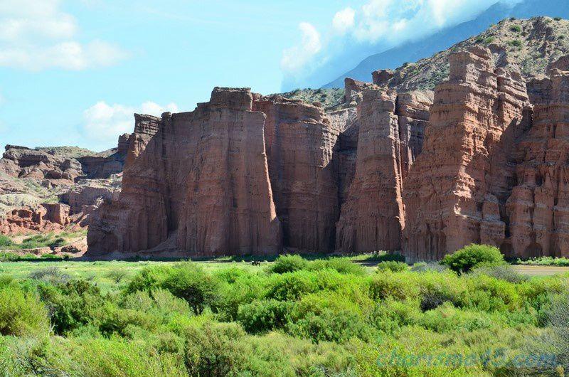 Quebrada de las Conchas - LosCastillos
