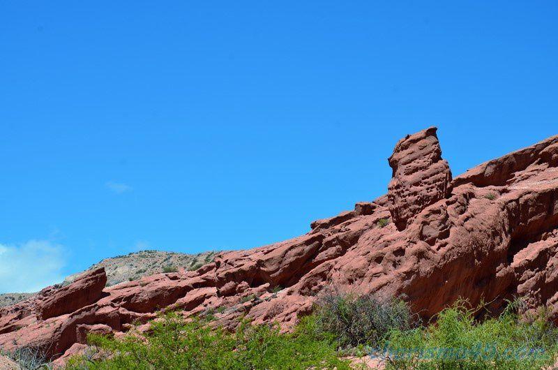 Quebrada de las Conchas - Los Colorados