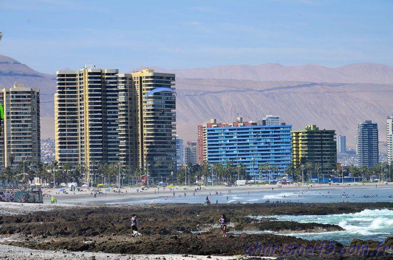 Iquique (Chili en camping-car)
