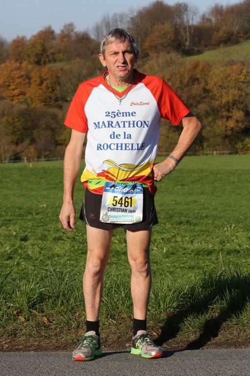 Christian FORTIN au marathon de la Rochelle