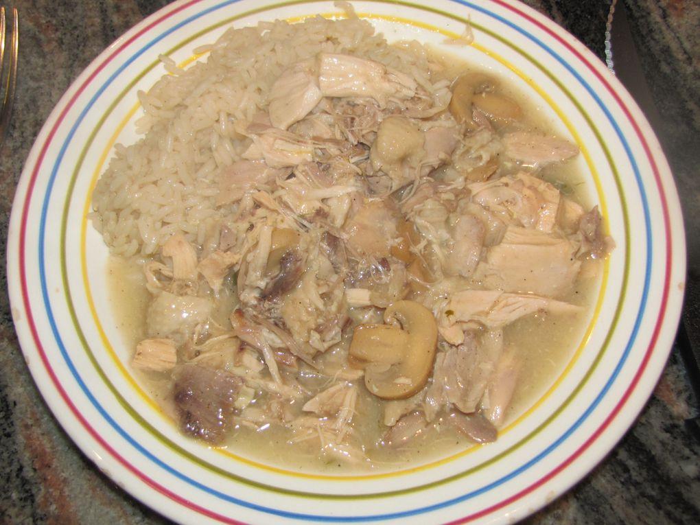 Poule au riz