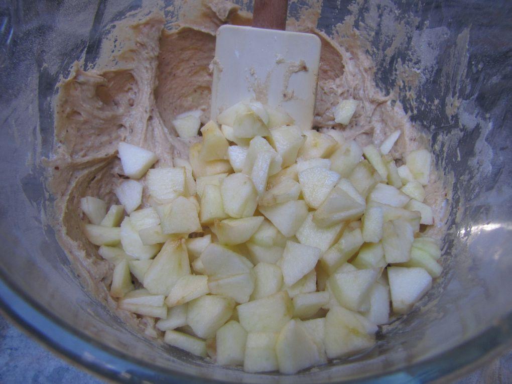 Mini cakes pommes-cannelle