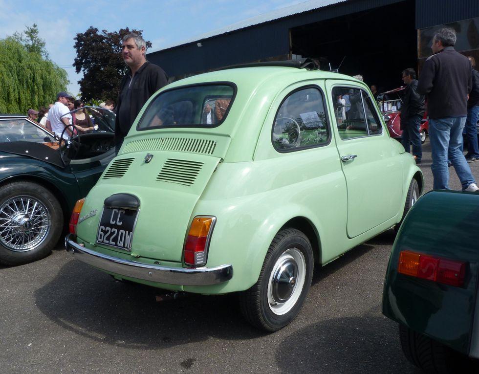 Gros plan sur la Fiat Nuova 500