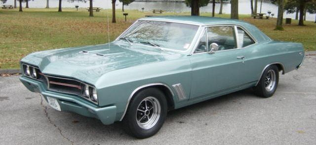 gros plan: Buick Skylark 1964-1965