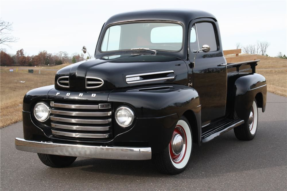 FORD F: 1949, 1950, 1951, 1952, 1953, 1954,