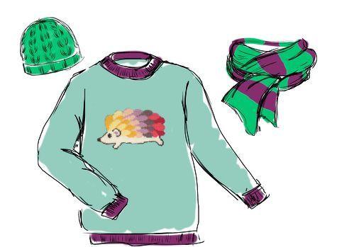 J'ai créé ma tenue de la rentrée avec Phildar....