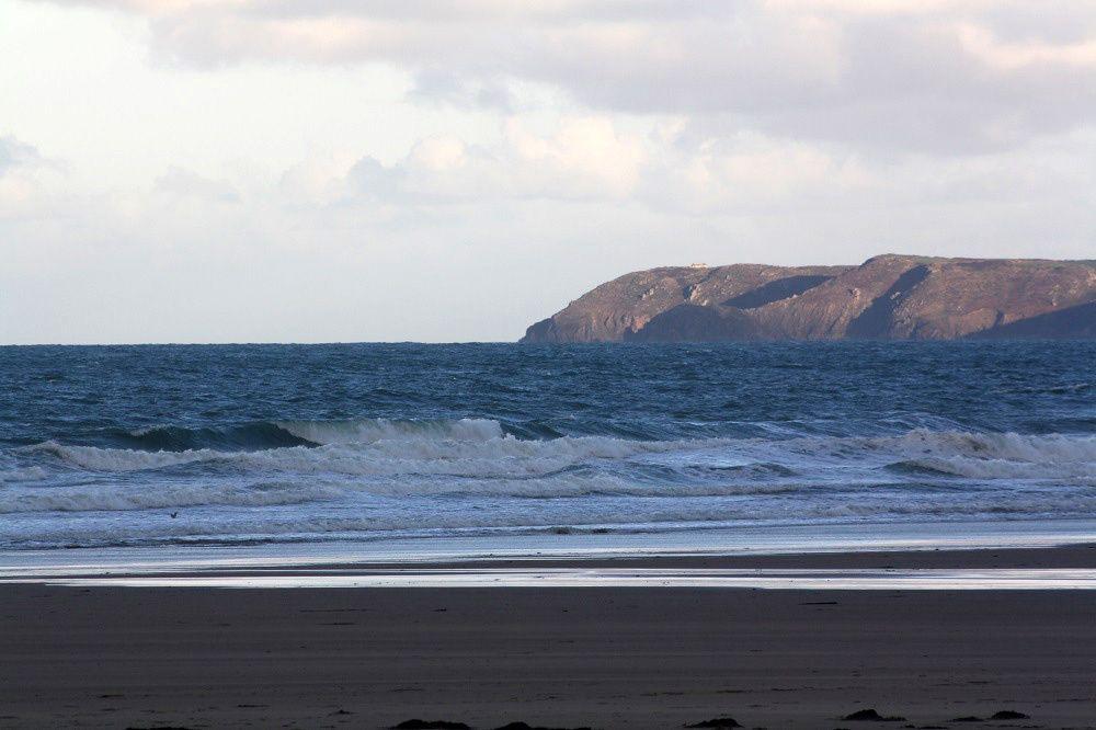 Siouville ce matin 9H (fin de marée descendante)