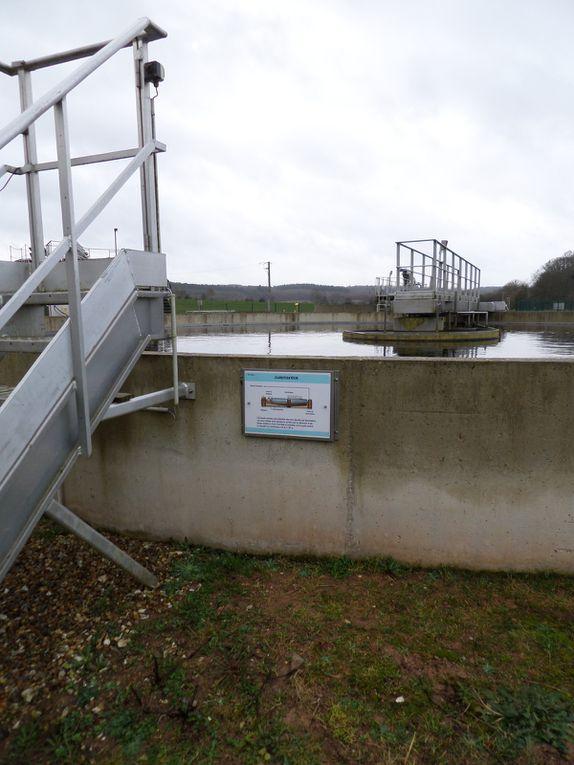 Classe d'eau : l'album de la station d'épuration de Thuit Signol