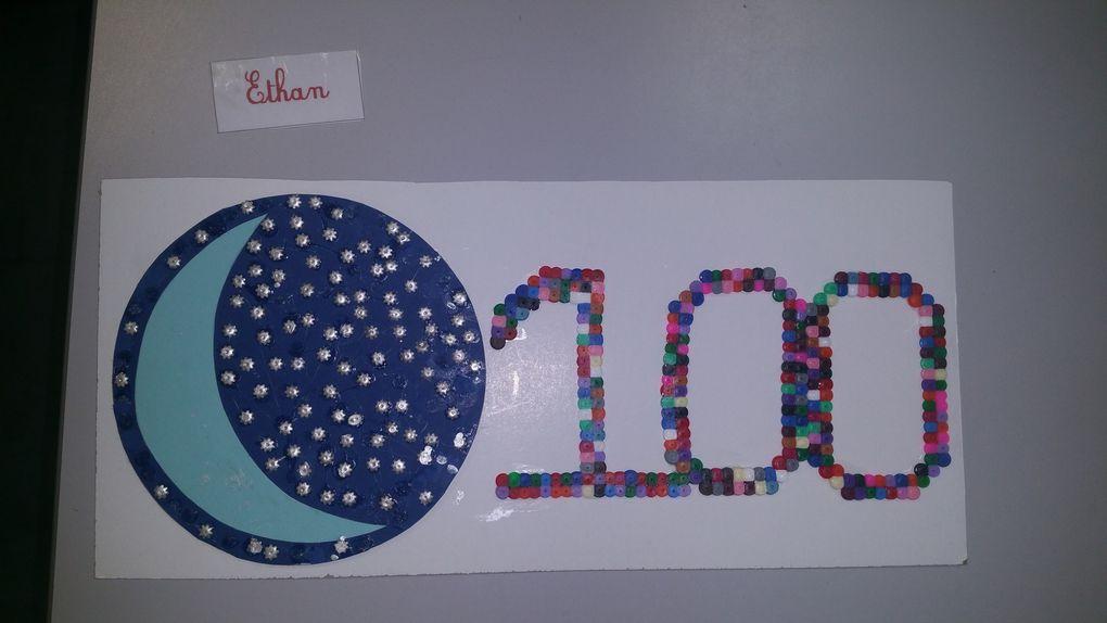 Le 100ème jour d'école : le défi des CE1