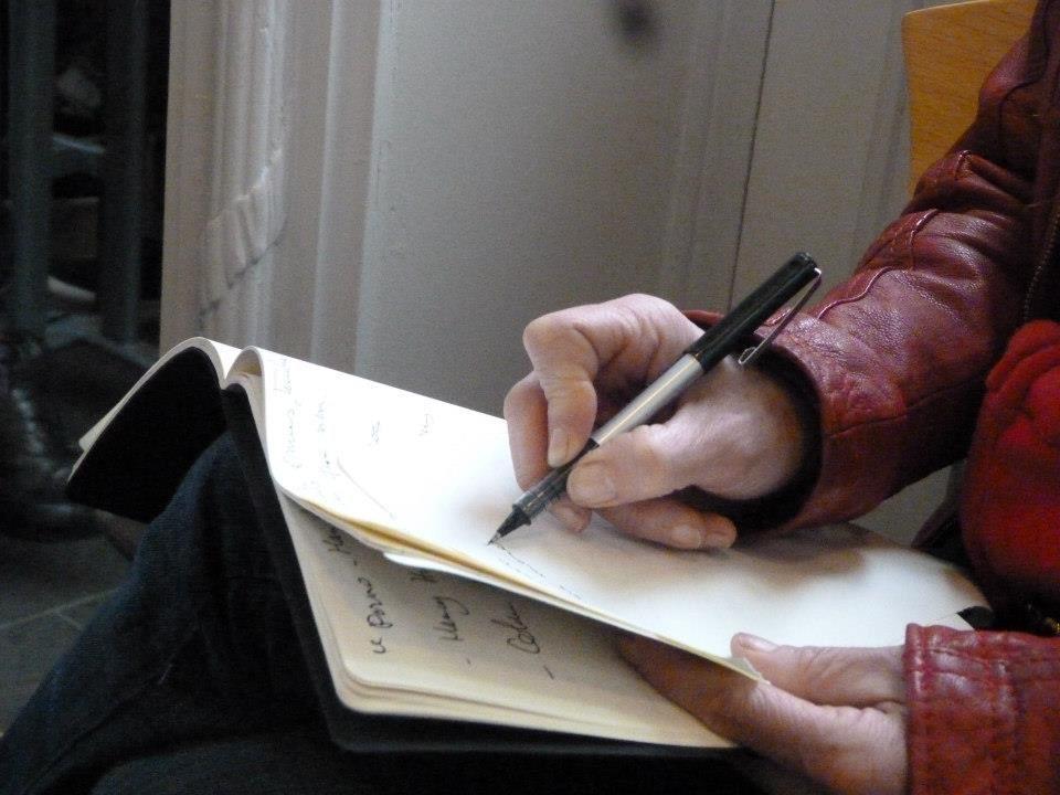 les ateliers d'écriture de l'année 2012-2013 avec les auteurs et autrices : Nadège Prugnard, Pascaline Herveet, Eugène Durif, Jean-Luc Raharimanana, Jean Louis Clarc et Sly de Bruix