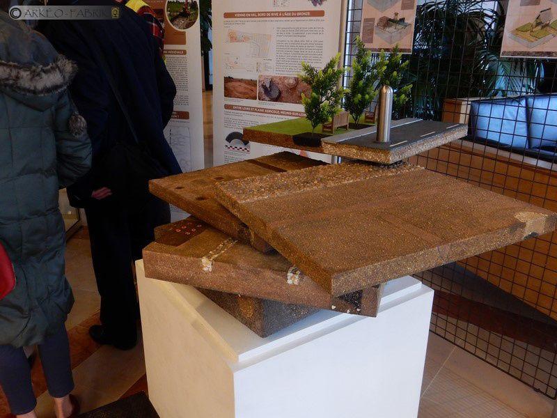Modules de fouille en Amphorettes et Maquette Stratigraphique
