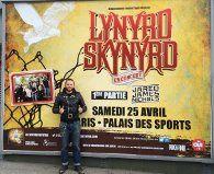 Lynyrd skynyrd : awcooper pere et fils support fan du groupe