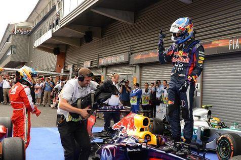 Et une de plus pour Vettel.