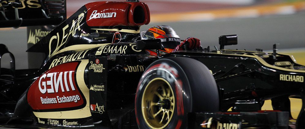 Photos : Romain Grosjean officiel
