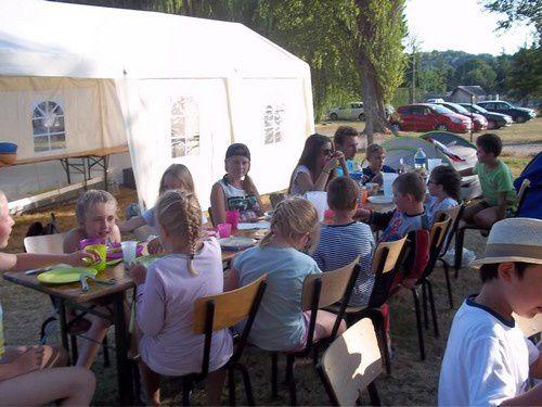 Vendredi 17 - Retour de camping et fin de semaine - ALSH VAUXBUIN