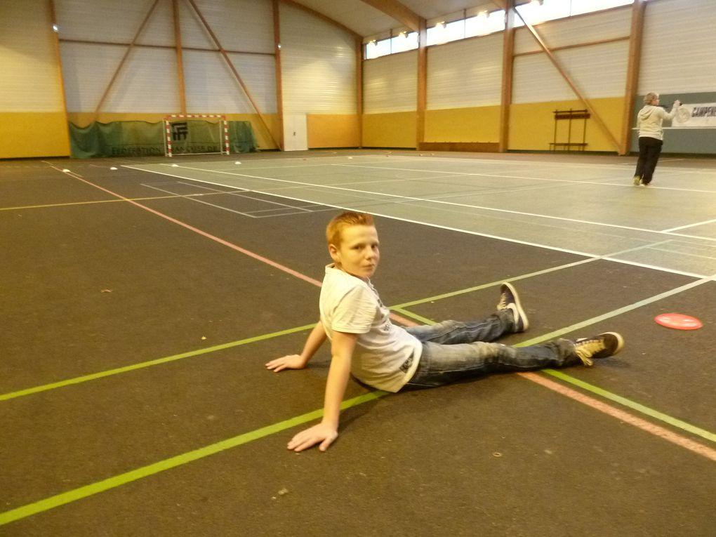 Photos du dernier cours de sport (EPS) avec Elise par Maëlle