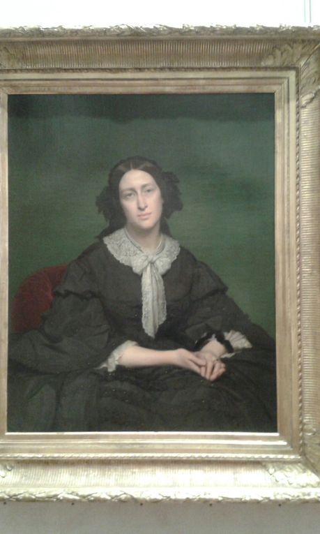 HIPPOLYTE FLANDRIN, peintre élève de Ingres