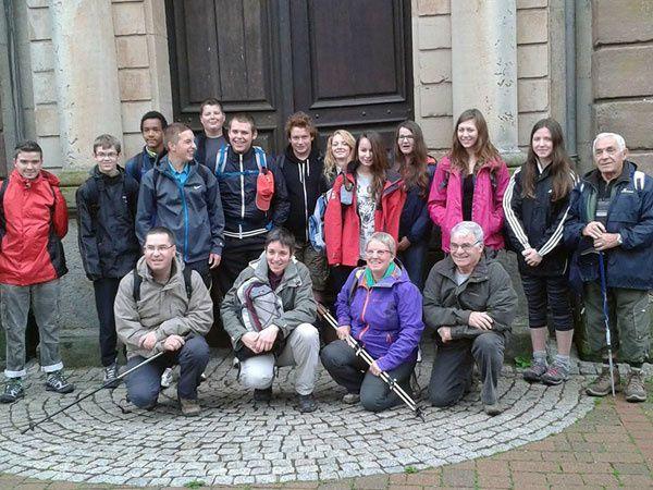 Marche fraternelle pour des jeunes de Sarrebourg et Phalsbourg