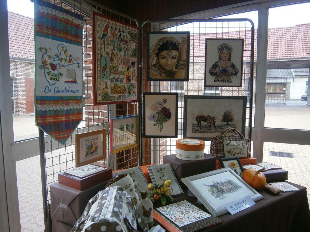 L'exposition de nos ouvrages club de St-Pol-sur-Ternoise