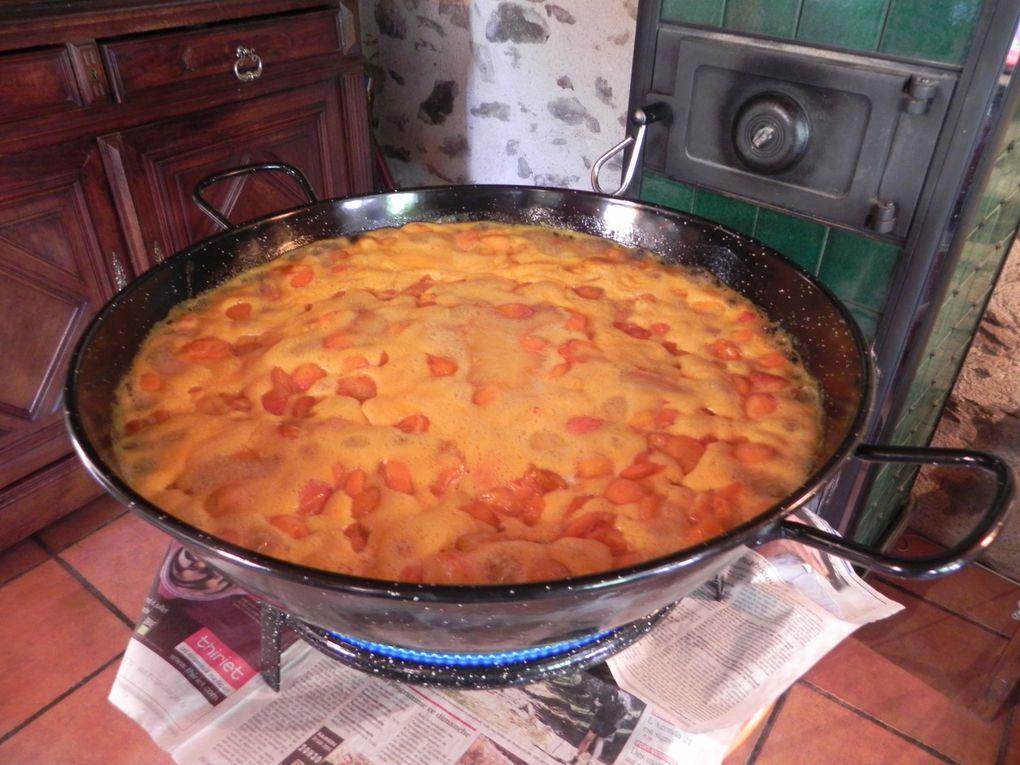 Confiture aux abricots &quot&#x3B;Rouges du Roussillon&quot&#x3B;.
