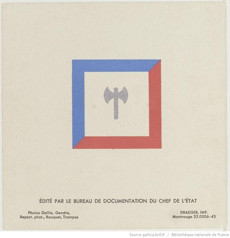 Abécédaire, 1943, Bureau de Documentation du Chef de l'Etat (source : gallica.bnf.fr)